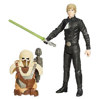 "Star Wars Return Of The Jedi 3.75"" Desert Mission Armor Luke Skywalker Jedi"