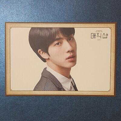 Jin - Official Photocard BTS Magic Shop Postcard Kpop