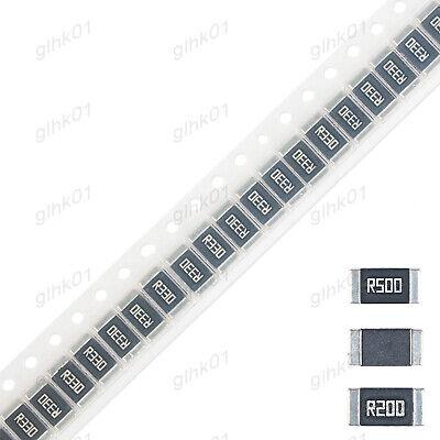 Alloy Smd Clip Resistor 2512 1 123w 0.1 0.07 0.05 Ohm - Full Range Of Values