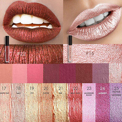 Focallure Waterproof Metallic Metal Lipstick Lip Gloss Liquid Makeup Lipstick Us