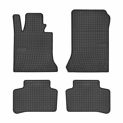 Gummimatten für Mercedes GLK x204, Off-Road, 4Matic, AMG 2008-2015 4x Fußmatten