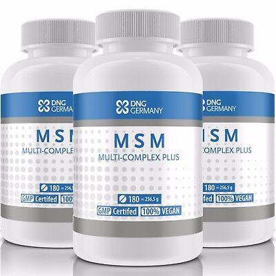 MSM COMPLEX PLUS 180 Tabletten f. 90-180 Tage - Gelenke Knochen Bindegewebe Haut ()