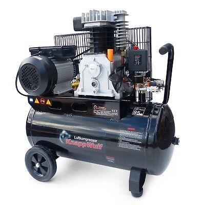 knappwulf luftkompressor druckluft kompressor 100l. Black Bedroom Furniture Sets. Home Design Ideas