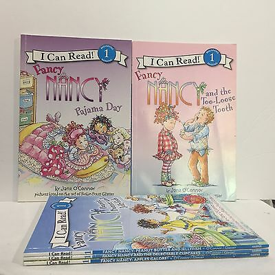 (5 PC Lot I Can Read Beginning 1 Fancy Nancy Jan O'Oconnor Illust #416 Free Ship)