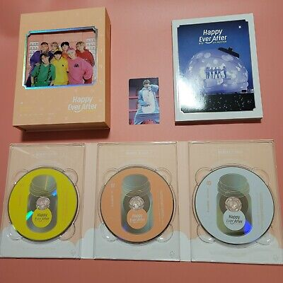 BTS 4th muster dvd Photo card JIMIN J HOPE Happy ever after official DVD