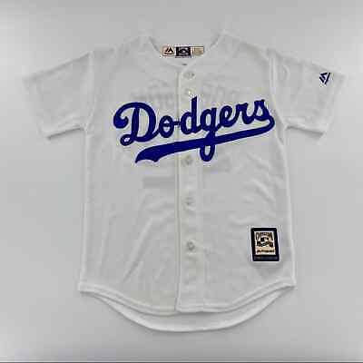 Majestic LA Dodgers Robinson Youth CoolBase Jersey