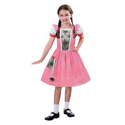 Mädchen kleine Miss Muffet Kostüm Welt Buch Wochentag Kostüm Märchen Kinder