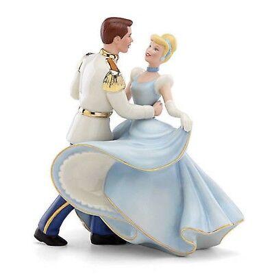 Lenox Disney Princess Cinderella & Prince Charming Figurine Wedding Cake Topper