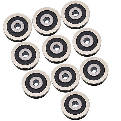 Us Stock 10pcs 630vv V Groove Sealed Ball Bearings Vgroove Bearing 6 X 30 X 9mm