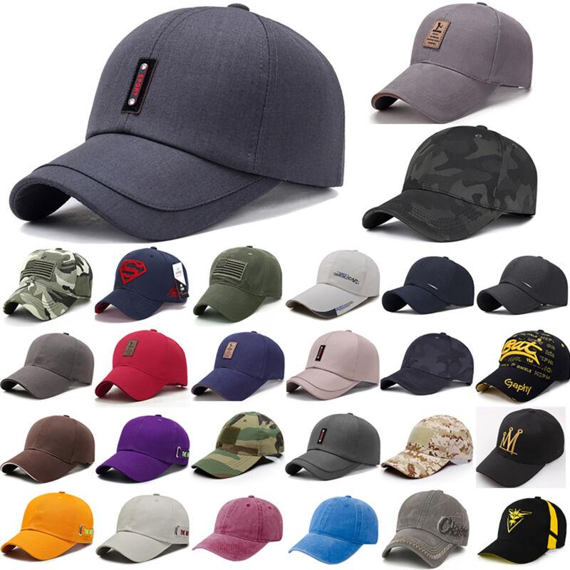 Herren Damen Baseball Cap Basecap Mütze Kappe Sonnenhut Sommer Strand Golf Hut