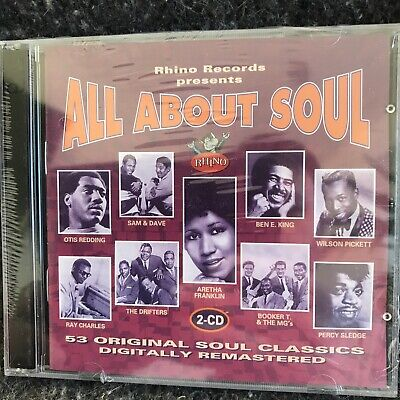 All About Soul:various Artists: 2x Cd New Sealed