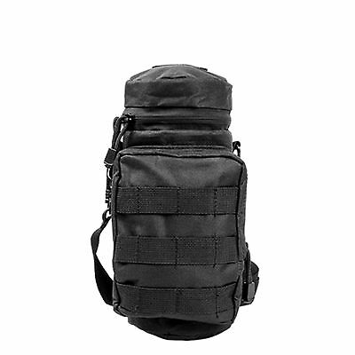 NcStar Vism MOLLE PALS H2O Hydration Water Bottle Carrier Utility Pouch Black