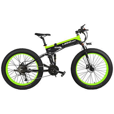 500W 26'' Bicicleta eléctrica asistencia plegable 40km/h Velocidad máxima E7X8