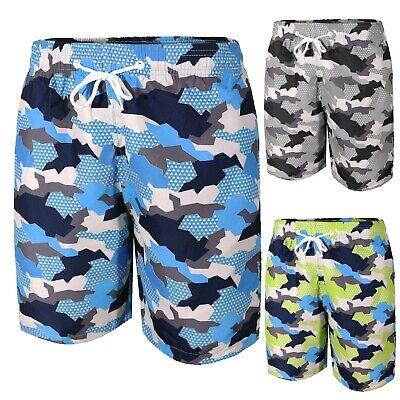 Männerkostüm Bermuda Meer Schwimmbad Mimetikum Boxer-Shorts Swimsuit S M L XL