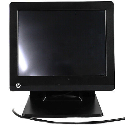 Hp Rp7 7800 Retail System 17 Celeron G540 Touchscreen Pos 2.5ghz 4gb Ram 320gb