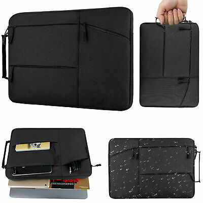 Slim Laptop Sleeve Case Carry Cover Bag for 11 13 15 Macbook Dell HP NoteBook