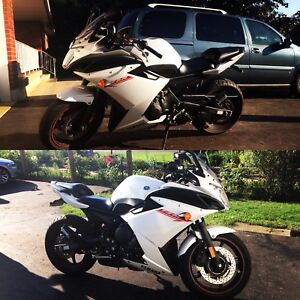 2012 YAMAHA FZ6R $4200 or trade for something fast