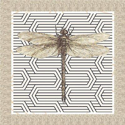 Dragonfly Serviette (4 Servietten