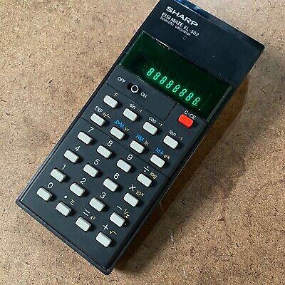 Sharp Elsi mate EL-502 Scientific Electronic Calculator Vintage - Fully Tested