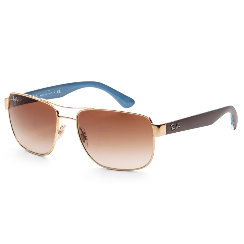 Ray-Ban Unisex RB3530-001-13 Fashion 58 mm Gold Frame Sunglasses