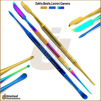 New Lecron Carver Beale Wax Modeling Carver Zehle Dental Lab Instruments Kit