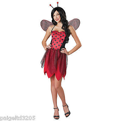 Totally Ghoul Sassy Miss LadyBug Lady Bug   Women's Halloween Costume Small
