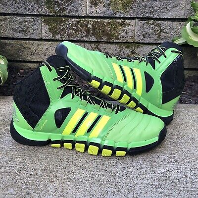 Adidas Adipure Crazy Ghost 8 Men's Bright Green Basketball Shoes Size 11 US