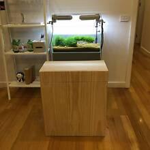 Custom Built Hardwood ADA Style 60p Aquarium Stand / Cabinet Ringwood Maroondah Area Preview