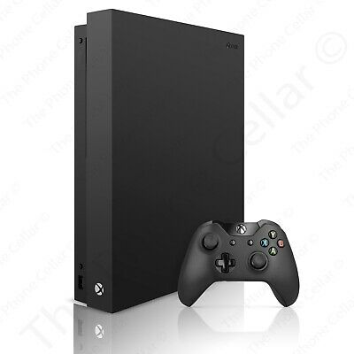 Microsoft - Xbox One X 1TB Black 4K HDR Gaming Console
