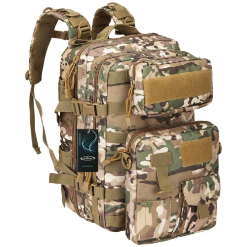 40L Outdoor Travel Tactical Backpack Rucksack Trekking Campi