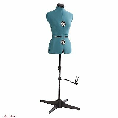 Mannequin Torso Sewing Mini Dress Form Girls Stand Adjustable Display Clothing