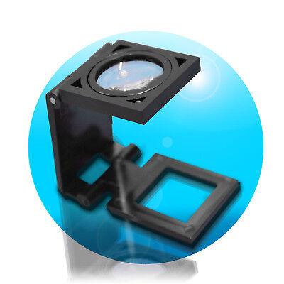 8x Vergrößerung Linen Tester Vergrößerungsglas Fadenzähler Lupe Juwelier Lupe 8 X Lupe