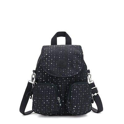 Kipling Backpack Shoulder Bag Firefly UP Small TILE PRINT