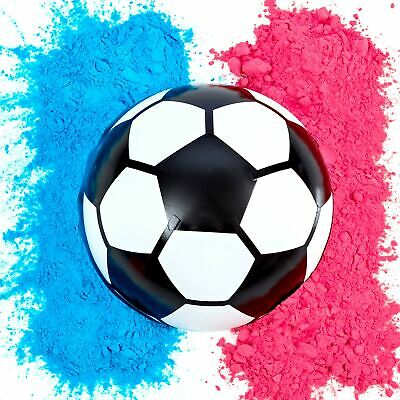 Gender Reveal Soccer Ball | Blue and Pink Powder Kit | Gender Reveal Party](Soccer Ball Decorations)