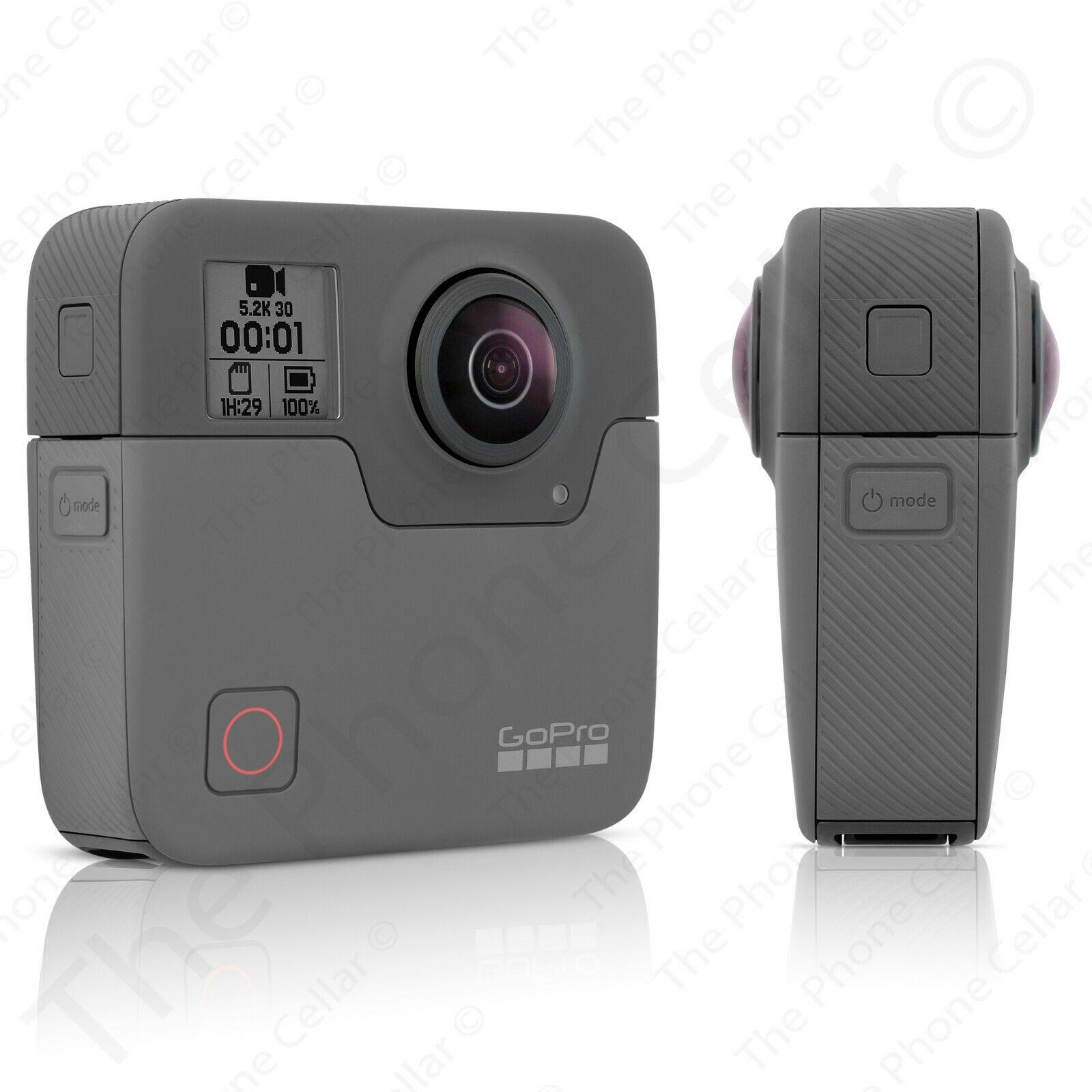 Details about GoPro - Fusion 360-Degree Digital Camera (Black) Scratched  Both Lenses