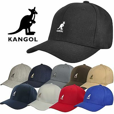 Authentic Kangol Men's Wool Flex-Fit Baseball Cap Hat 8650BC S/M L/XL XXL NWT