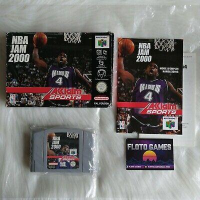 Jeu NBA Jam 2000 pour Nintendo 64 N64 PAL FR Complet CIB - Floto Games