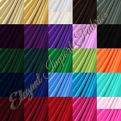 STRETCH VELVET FABRIC COSTUMES CRAFT, APPAREL, UPHOLSTERS 60