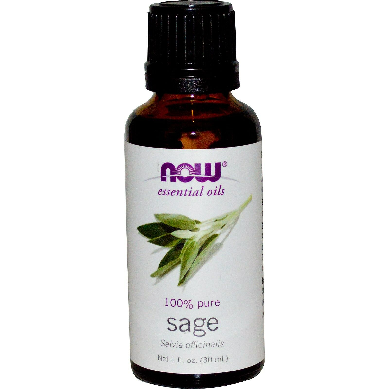 NOW Foods 1 oz Essential Oils and Blend Oils - FREE SHIPPING! Sage