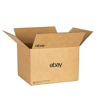 Ebay-branded Boxes With Black Color Logo 12 X 10 X 8