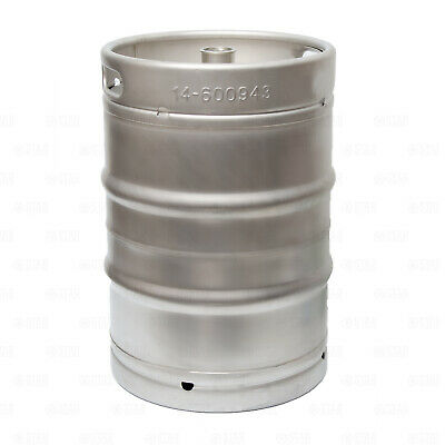 12 Barrel Stainless Steel Commercial Beer Half Keg 15.5 Gallon Sankey D Spear