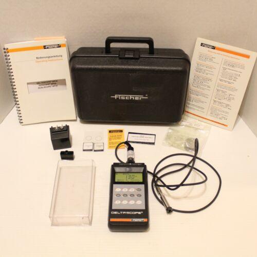Fischer DeltaScope MP30 Ferrous Coating Thickness Meter Gauge EGAB1.3