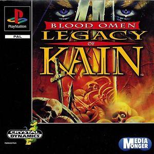 PlayStation®1  PS1 PS2 PS3 Blood Omen Legacy of Kain™(Kult) RAR