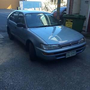 1996 Toyota Corolla Hatchback Woolloongabba Brisbane South West Preview
