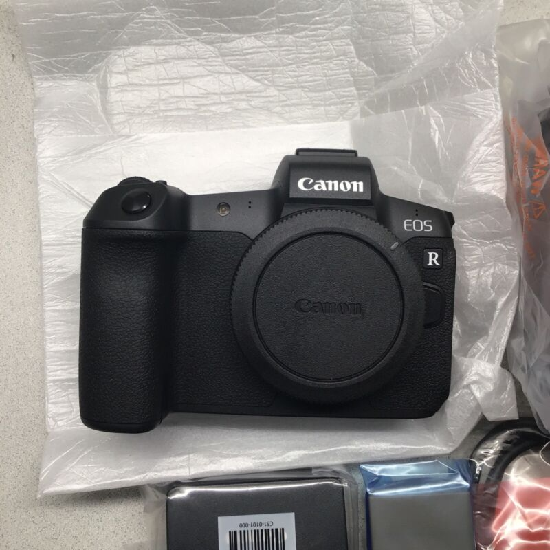 Canon EOS R  Mirrorless Camera Black Body Only