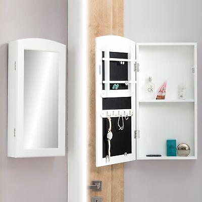 FineBuy Schmuckschrank Hängend Wandspiegel zum Hängen mit Tür Spiegelschrank ()