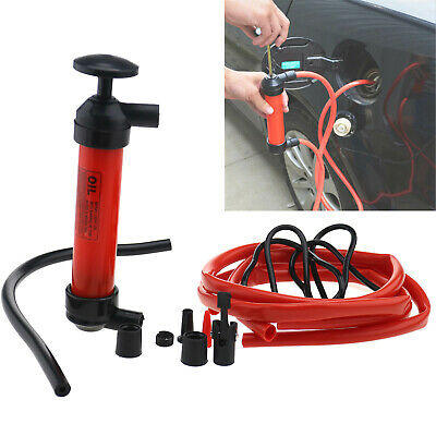 3 In1 Siphon Water Car Oil Air Pump Extractor Liquid Fuel Transfer Inflator