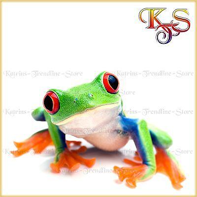 ♡♥ tolles Bügelbild Bügelbilder Hotfix Frosch Frog 422XL Transferfolie ♡♥