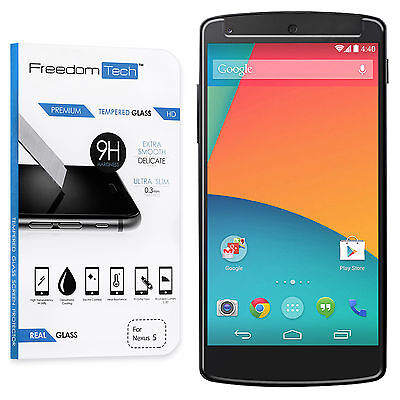 High Quality Premium Real Tempered Glass Screen Protector For LG Google Nexus 5