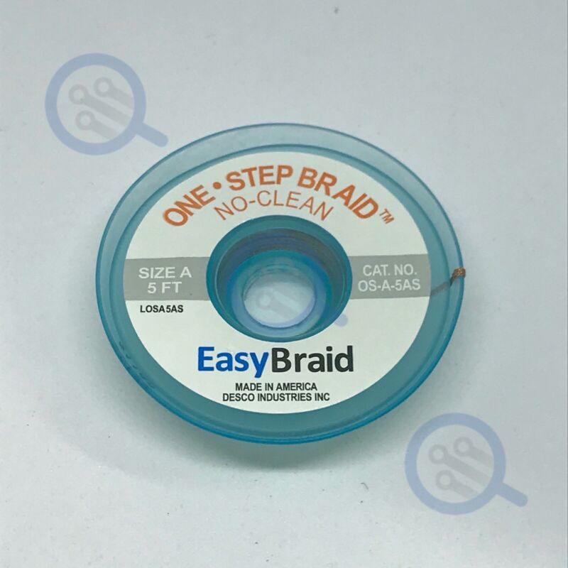 Easy Braid OS-A-5AS 0.025″ No Clean Wick for Microsoldering
